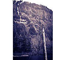 Rockclimbing Photographic Print