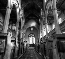 Inside St Mary's by Alf Myers
