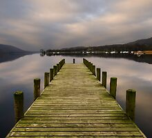 Coniston Water - Long Jetty by John Hare