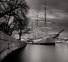 Smooth Sailing Into The Harbor Of Dreams by peterlevi