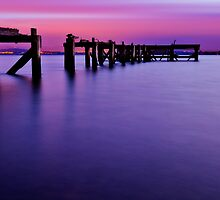 Aberdour Pier...The Blue Hour ( Please View Larger ) by Don Alexander Lumsden (Echo7)