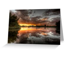 Swamp Glass Greeting Card
