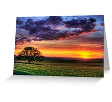 Ceres Sunset Greeting Card