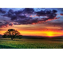 Ceres Sunset Photographic Print