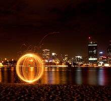 Sparkling Orb Visits Perth by Stephen Humpleby