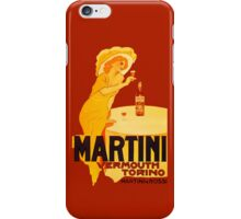 Martini Rosso Vermouth iPhone Case/Skin