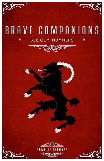 Brave Companions by liquidsouldes