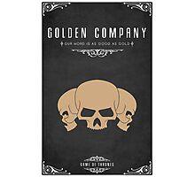 Golden Company Photographic Print
