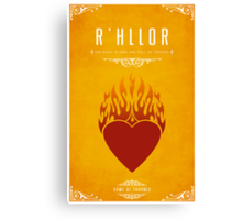 R'hllor Canvas Print