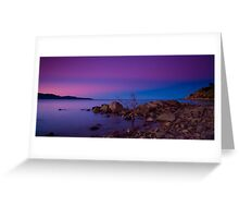 Rose Bay Calm Greeting Card