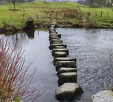 A Walk By Mere,Tarn and Water - Rothay Stepping Stones by VoluntaryRanger