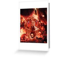 Hell Is Waiting Greeting Card