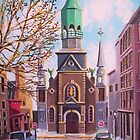 Bonsecour Chapel, Vieux Montreal by Dan Wilcox