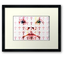 Cry Baby Cry - Pop Not by L. R. Emerson II Framed Print