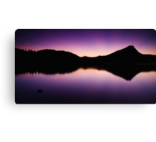 The Beauty Of Blue Hour Canvas Print