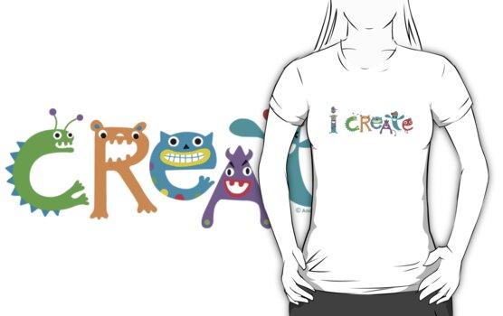 I Create Critters by Andi Bird