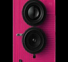 Kamen Rider Decade Blackbird Fly Pink iPhone Case by lazerwolfx
