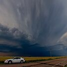 Boise City Oklahoma Going Tornadic... by MattGranz