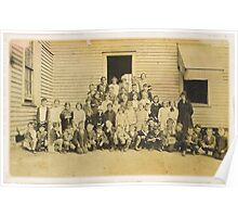 THROWBACK: A 1917 One Room Schoolhouse Poster