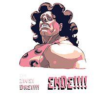Hugo - EIN ZWEI DREI!!! ENDE! Photographic Print