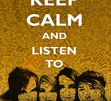 Keep Calm and Listen To Paramore by Jonny D'Elia