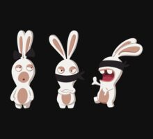 The three wise Rabbids ! Kids Clothes