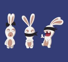 The three wise Rabbids ! by Alondyte