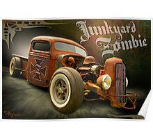 Junkyard Zombie Poster