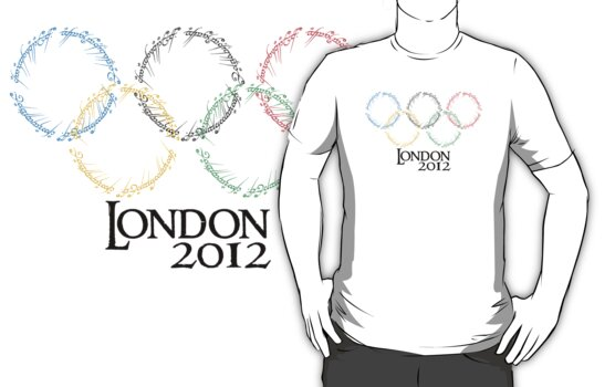 Olympic Rings by batiman