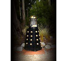 Dalek Letter Box Photographic Print