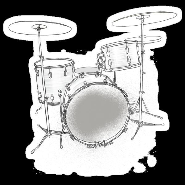drums BW by edomenech