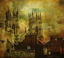 York Minster, York, North Yorkshire. UK. by Philip Edmondson
