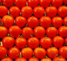 Spanish tomatoes by Arie Koene