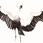 Crowned Crane by TPFW