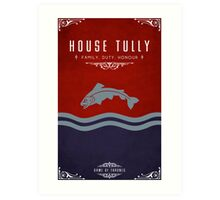 House Tully Art Print