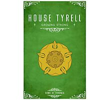 House Tyrell Photographic Print