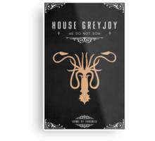 House Greyjoy Metal Print