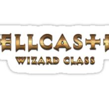 Spellcaster - Wizard Class (Rust Version) Sticker