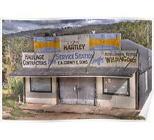 Vintage Garage, Little Hartley, NSW Poster