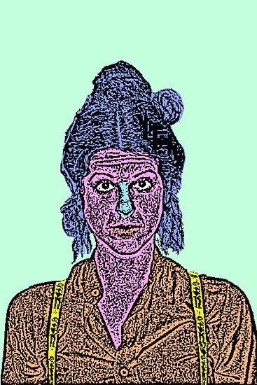 Gilda Radner SNL by CultureCloth