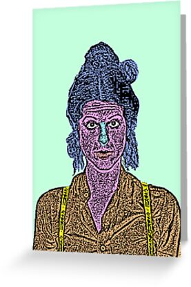 Gilda Radner SNL by CultureCloth
