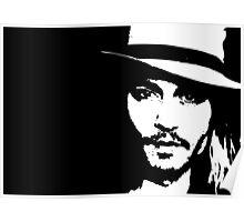 Johnny Depp - Tee Poster