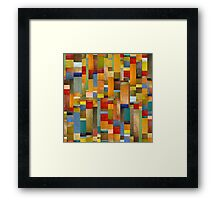 Pieces Parts Framed Print