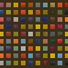 Collage Color Study lll by Michelle Calkins