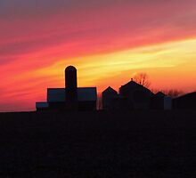 Iowa Sunset by lorilee