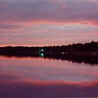 Bass Lake at Dusk by Robert Meyers-Lussier