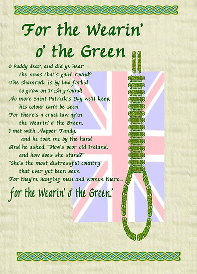 For the Wearin' o' the Green by mordechai