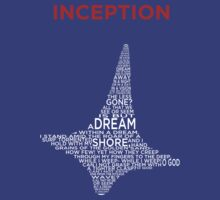 INCEPTION - A POEM WITHIN A TOTEM WITHIN A SHIRT by bearwithscissor