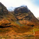West Highland Way - Glen Coe - Scotland by Mark Tisdale