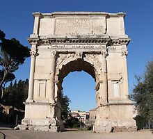 Arch of Titus by Emma Holmes